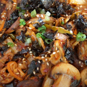 Fried Kimchi