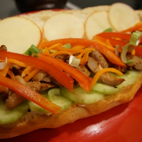 Swabian Chicken Bulgogi Sandwiches