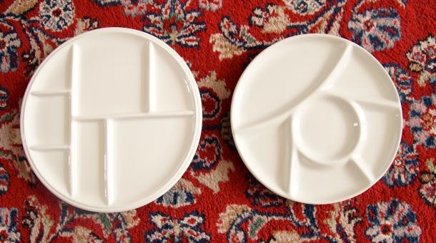 Fondue Plates