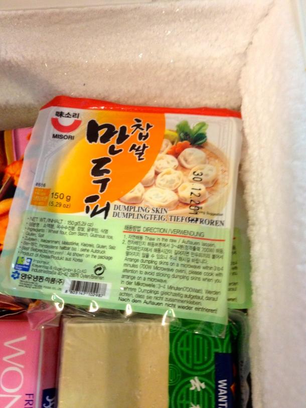 Korean mandu wrappers