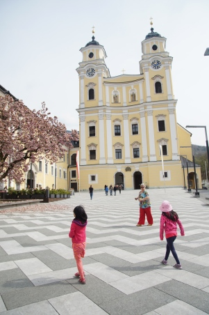 Mondsee church where Maria and the Captain married in the movie