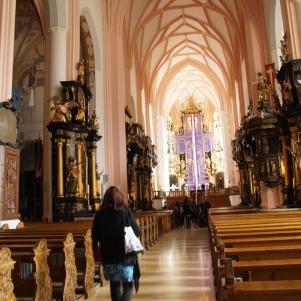 Inside of Mondsee church