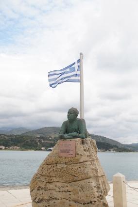 Nikkos Kavvadias, famous Cephalonian poet