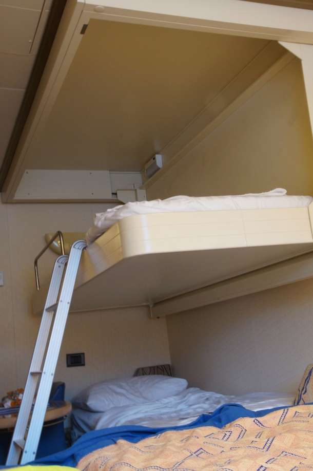 The top bunk