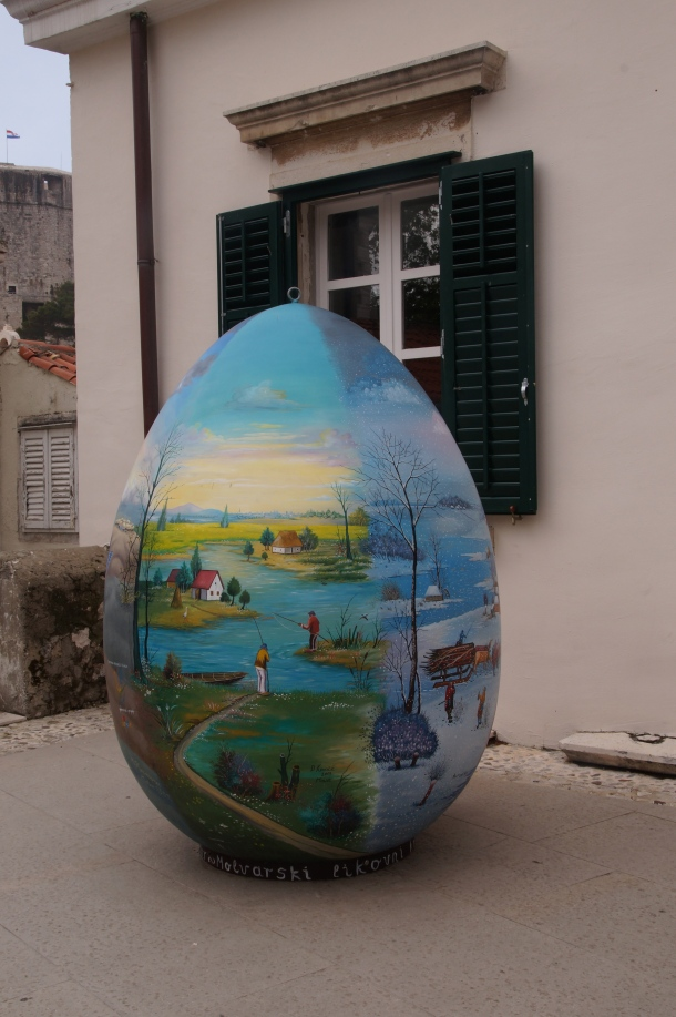 Giant Easter Egg in Split