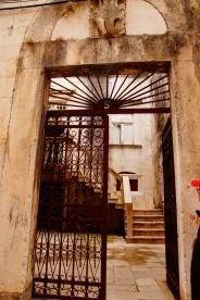 A doorway in Korčula.