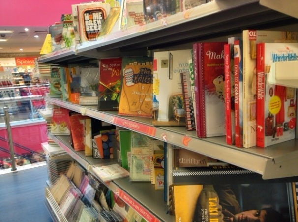 English-language cookbooks
