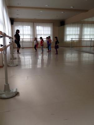 Folkwang Musikschule ballet class