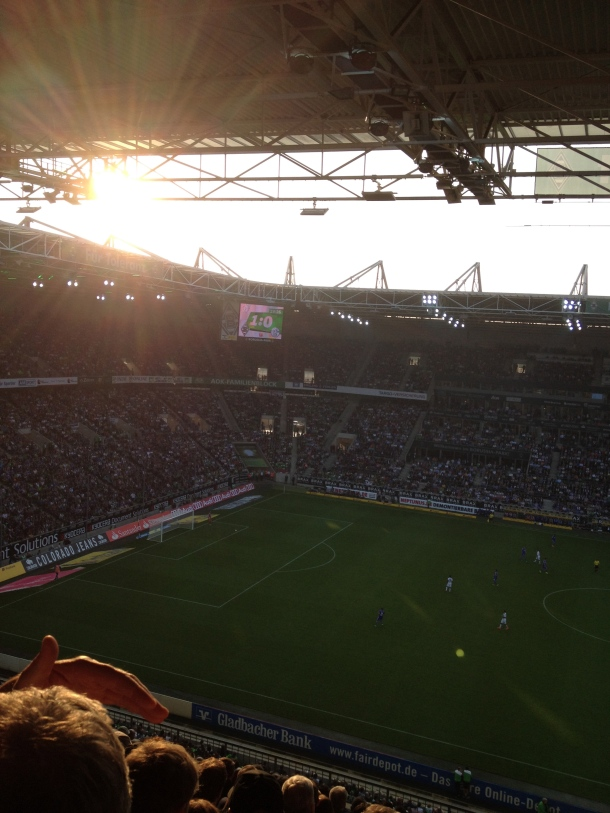 Gladback-Schalke scoreboard