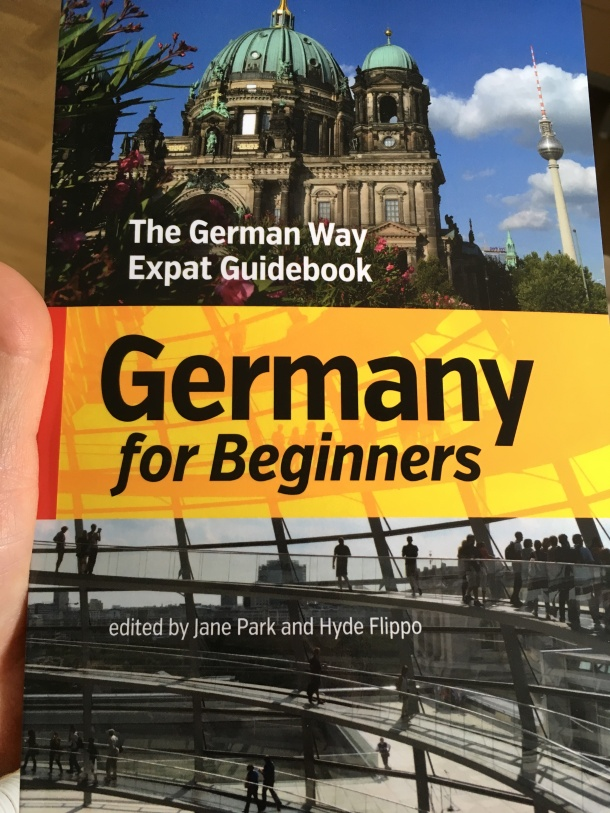 My copy of Germany for Beginners finally in my hands PHOTO CREDIT: Jane Joo Park